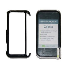 GENUINE Case-mate Motorola BACKFLIP MB300 Clear Cabrio Snap On Plastic Case NEW