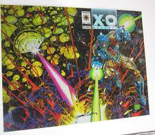 X-O MANOWAR 0 VALIANT COMIC COVER UNCUT UNCIRCULATED Prototype 1 of 3 made
