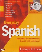 Everyday Spanish Deluxe Edition (2 CDs & AA Essential Phrase Book)