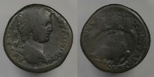 Caracalla Thrace, Augusta Traiana 198-217 AD River god and city gate towers rev!