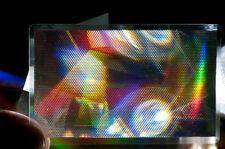 2  STÜCK  SPECIAL EFFEKT FRESNEL LINSE 85.0 x 55.0 MM HQO