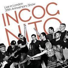 Live in London Incognito CD Album 35th Anniversary