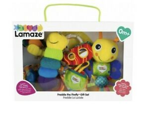 LAMAZE Freddie The Firefly Gift Set Baby Shower Present Rattles BRAND NEW