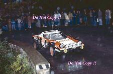 MARKKU ALEN LANCIA STRATOS ALITALIA HF WINNER SANREMO RALLY 1978 Fotografia