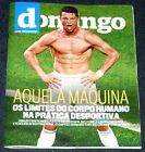 CRISTIANO RONALDO, full magazine DOMINGO, 32 x 26,5 cm, cover + article,PORTUGAL