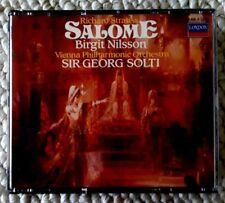2x CD SALOME Richard Strauss, Birgit Nilsson SIR GEORG SOLTI , Vienna Phil Orch.