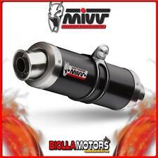 Y.018.LXB SCARICO COMPLETO MIVV GP YAMAHA T-MAX 500 2001-2007 INOX DARK/INOX