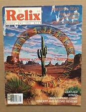 Vintage Original Relix Magazine 'April 1988' New Riders Of The Purple Sage BGP