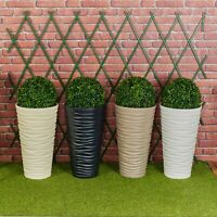 Sand Large Plant Pot Flower Indoor Outdoor Garden Planters Boxwood Buxus Ball