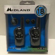 Midland Long Range Security Two-Way Radio GMRS Walkie Talkie Set