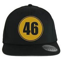 Chapeau 46, SnapBack Casquette noir, style Moto Gp, Motocyclisme, Pilote, Tifoso
