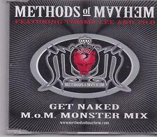 Methods Of Mayhem-Get Naked Promo cd maxi single