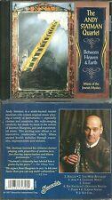 RARE / CD - THE ANDY STATMAN QUARTET : BETWEEN HEAVEN & EARTH / MUSIC JEWISH