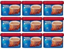 9 Maxwell House HAZELNUT CAFE Coffee Creamer Drink Mix Beverage Mix