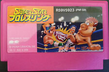 Nintendo Famicom. Super Star Pro Wrestling PNF-S9