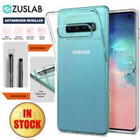 Galaxy S10 S10e S9 Note 10 9 5G Plus Case ZUSLAB Slim Soft Clear for Samsung