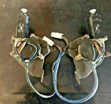 1986-1991 mazda rx7 fc oem dr & pass side headlight motors set