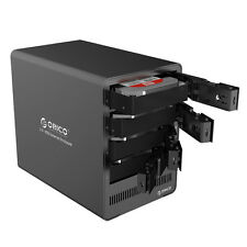ORICO 4-Bay 3.5 Inch Aluminium USB 3.0 SATA III HDD Hard Drive Enclosure Caddy