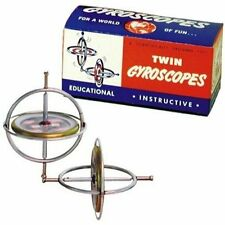 Originial Tedco Gyroscope Twin Pak Toy Game Kids Play Gift Original Tedco Gyros