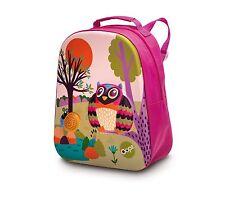 Childrens, Mr Woo Backpack, Travel Bag, School Bag, Rucksack. 3D Forest design.