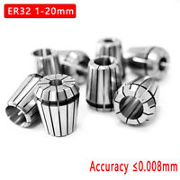 ER32 1-20 mm Collet Chuck Taper Holder Spring Collets Tool For CNC Lathe Tool
