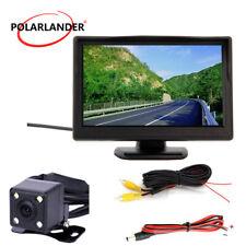 Rear View Mirror Monitor Car Backup Camera Desktop Digital 5 Inch TFT-LCD Screen