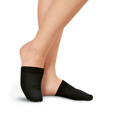 1 Pair Toe Toppers Socks Toe Cover Slings Mules Sandal Black GFY