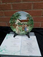 "Wedgwood Collectors Plate "" May Day"" , Boxed"