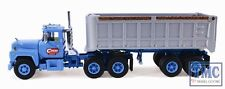 60-0244 First Gear 1:64 SCALE Mack R Model Cardi Corporation 22' End Dump Traile