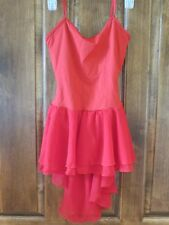 Dress Medium Red Sleeveless Dance