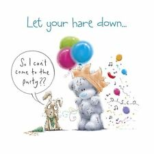 Me to You Let Your Hare Down Birthday Card - Tatty Teddy