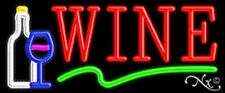 WINE HANDCRAFTED REAL GLASSTUBE NEON SIGN
