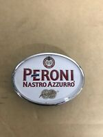 Peroni Nastro Azzurro Beer Oval Beer Badge Clip Used But In Really Good Conditio