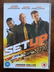 The Set-Up DVD 2011 Crime Thriller Movie w/ Bruce Willis and 50 Cent