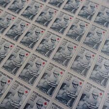 FEUILLE SHEET TIMBRE CROIX ROUGE RED CROSS N°1509 x50 1966 NEUF ** LUXE MNH