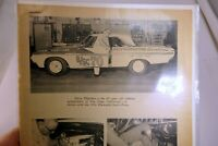 1964 Plymouth Sport Fury Norm Thatcher Magazine clipping advertisement Ad