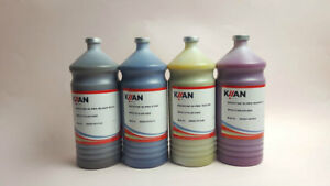 4 colors/set Kiian Digistar Pes HD ONE Sublimation Ink for Transfer Printing