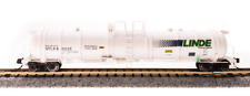 Broadway N Scale Cryogenic Tank LINDEr .  UTLX 80034 Bob The Train Guy