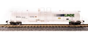 Broadway N Scale Cryogenic Tank LINDE .  UTLX 80035 Bob The Train Guy