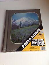 Vintage Retro Photo Album Self Adhesive Sheets Spiral Bound SEALED!! Mountain