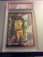 1996 Topps Finest Kobe Bryant W/ Coating #74 PSA 8 Rookie Card