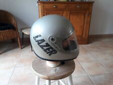 ANCIEN CASQUE MOTO INTEGRAL VINTAGE LAZER RARE STYLE GRIFFIN GPA BELL HELMET