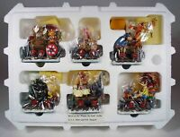 The Danbury Mint:  Disney Winnie the Pooh Christmas Train