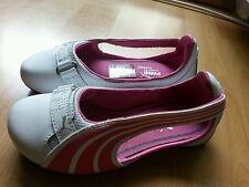 Puma Ballerina gr.27/28 Frühjahr/Sommer weiss-pink Neu**