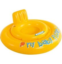 INTEX -MY BABY FLOAT inflatable swim seat suitable for 6-12 Months Gift Fun Joy
