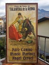 Cros Estrems - Ortega Litho tauromachie corrida Espagne Martinez Teruel Camino
