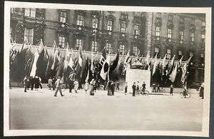 1936 Berlin Germany RPPC Real Picture Postcard Cover Olympic Games School