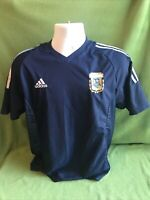 Adidas Originals Argentina AFA T-shirt Soccer World Cup Striped Men M size