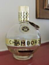 50% OFF! Chambord Bottle Empty Round Glass Liquor 750 ml