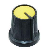 10 X Amarillo 6mm puntero Potenciómetro Perilla de control
